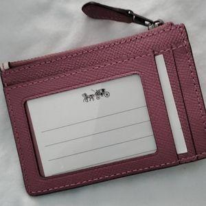 Coach Accessories - New Coach Sharky card holder